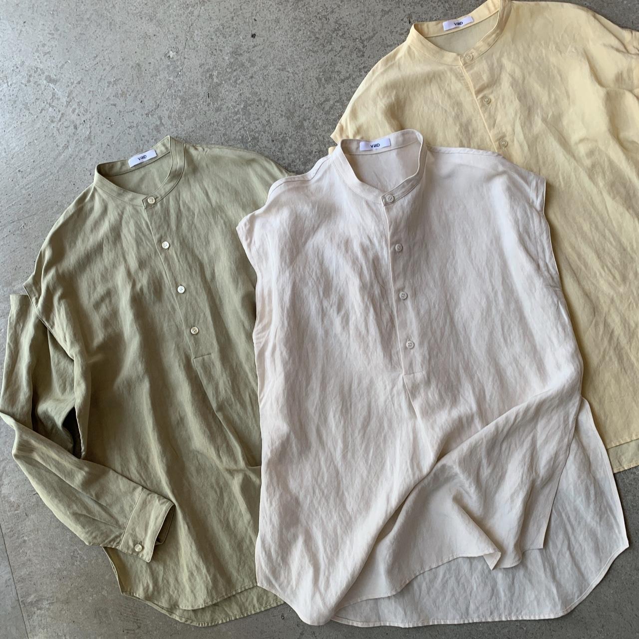 VillD - rayon linen tumbler shirt