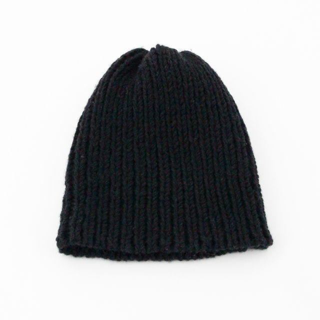 No.3の糸をつかったニット帽 (Bタイプ)