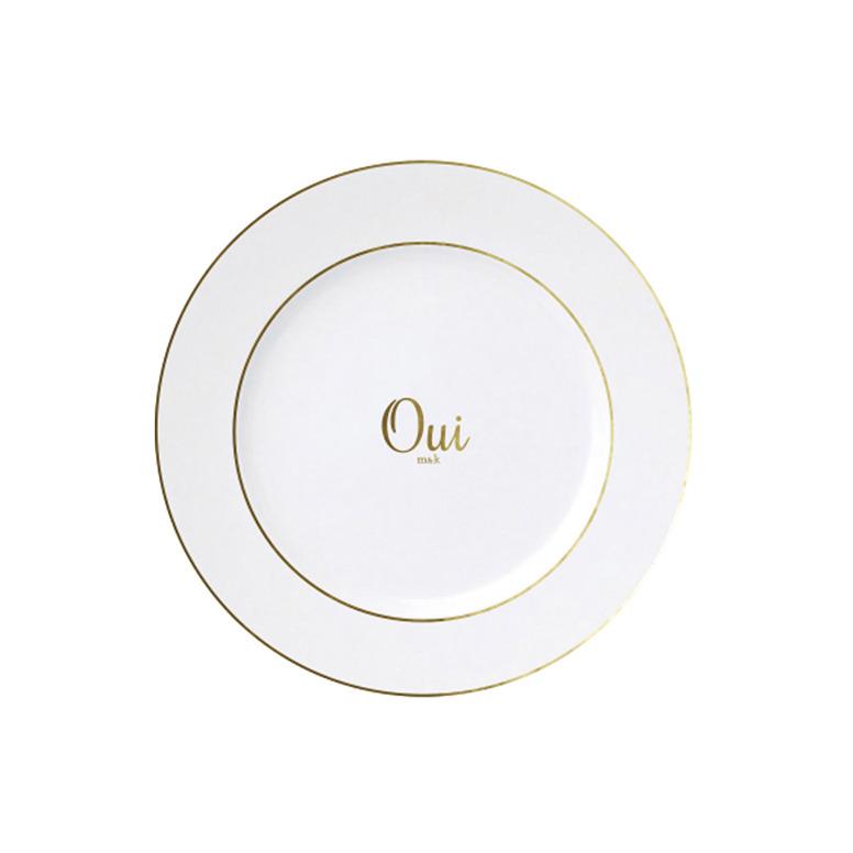 Oui on Classic Plates