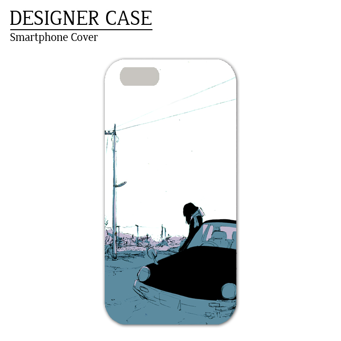 iPhone6 soft case [car]  Illustrator:Kawano