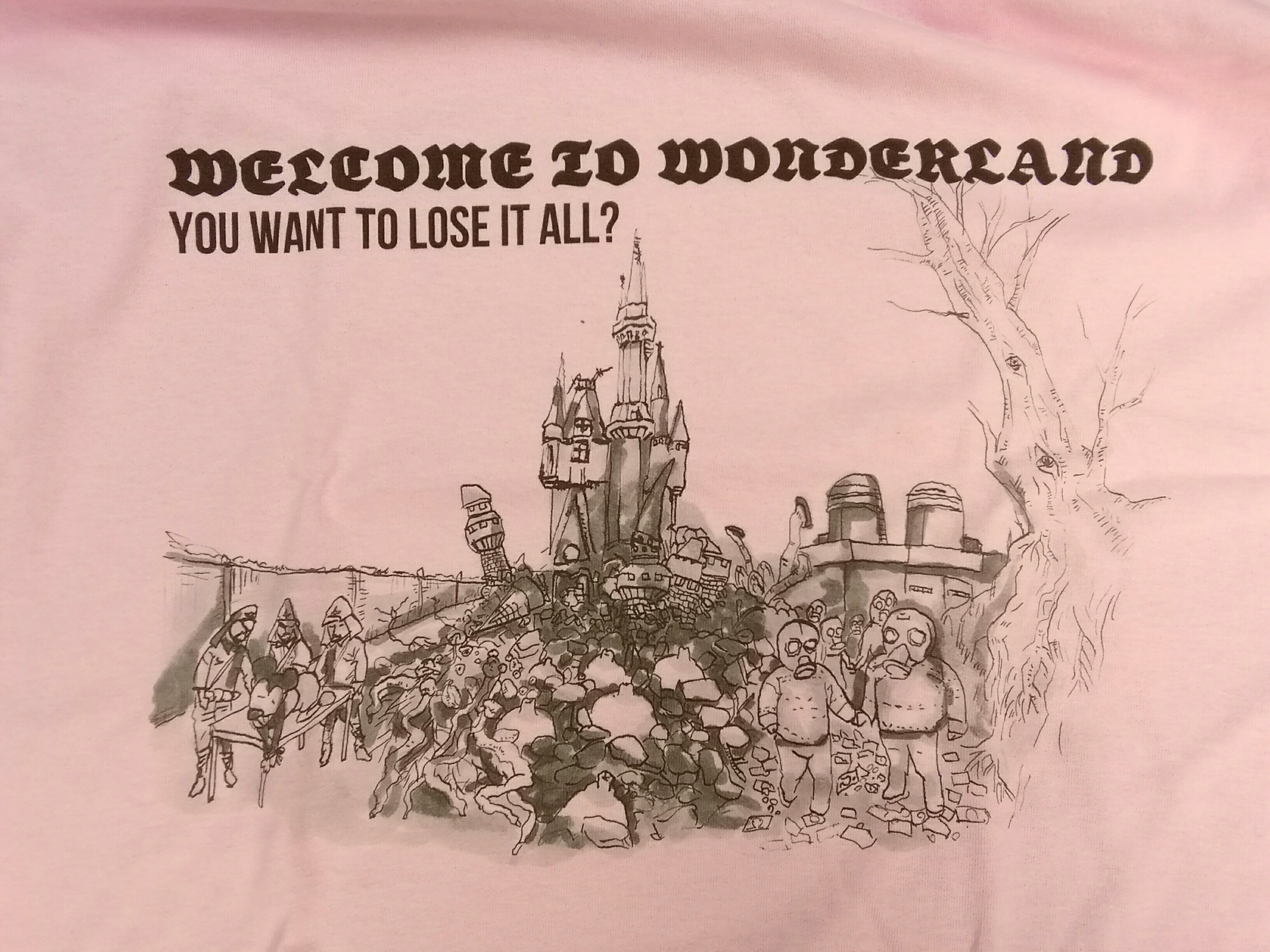 "KING CHAIYO × PRANK Weird Store ""Welcome to Wonderland"" LIGHT PINK"