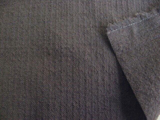 ストレッチ ウールピケ(織物) ダークブラウン(こげ茶) UR-0132
