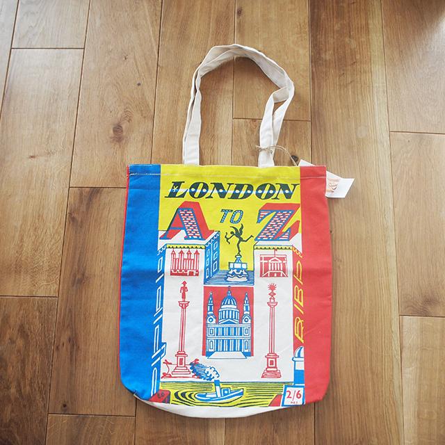 【イギリス】 V & A  「LONDON A TO Z」  トートバッグ ヴィクトリア&アルバート ミュージアム