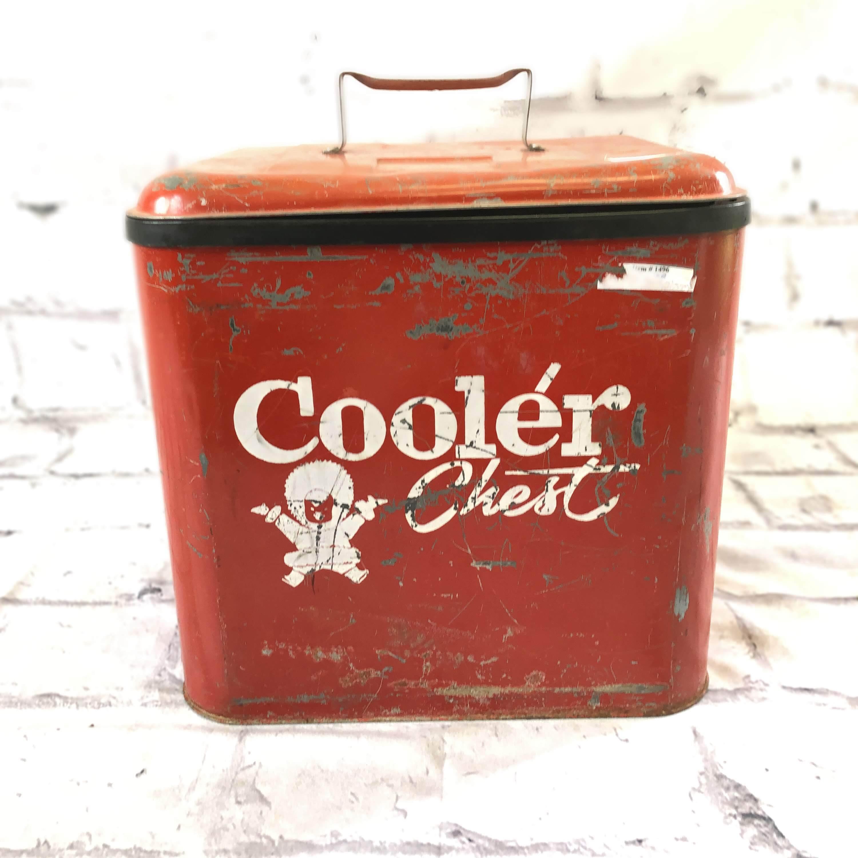品番4936 Cooler Chest クーラーボックス Ice Chest アイスボックス レッド ヴィンテージ