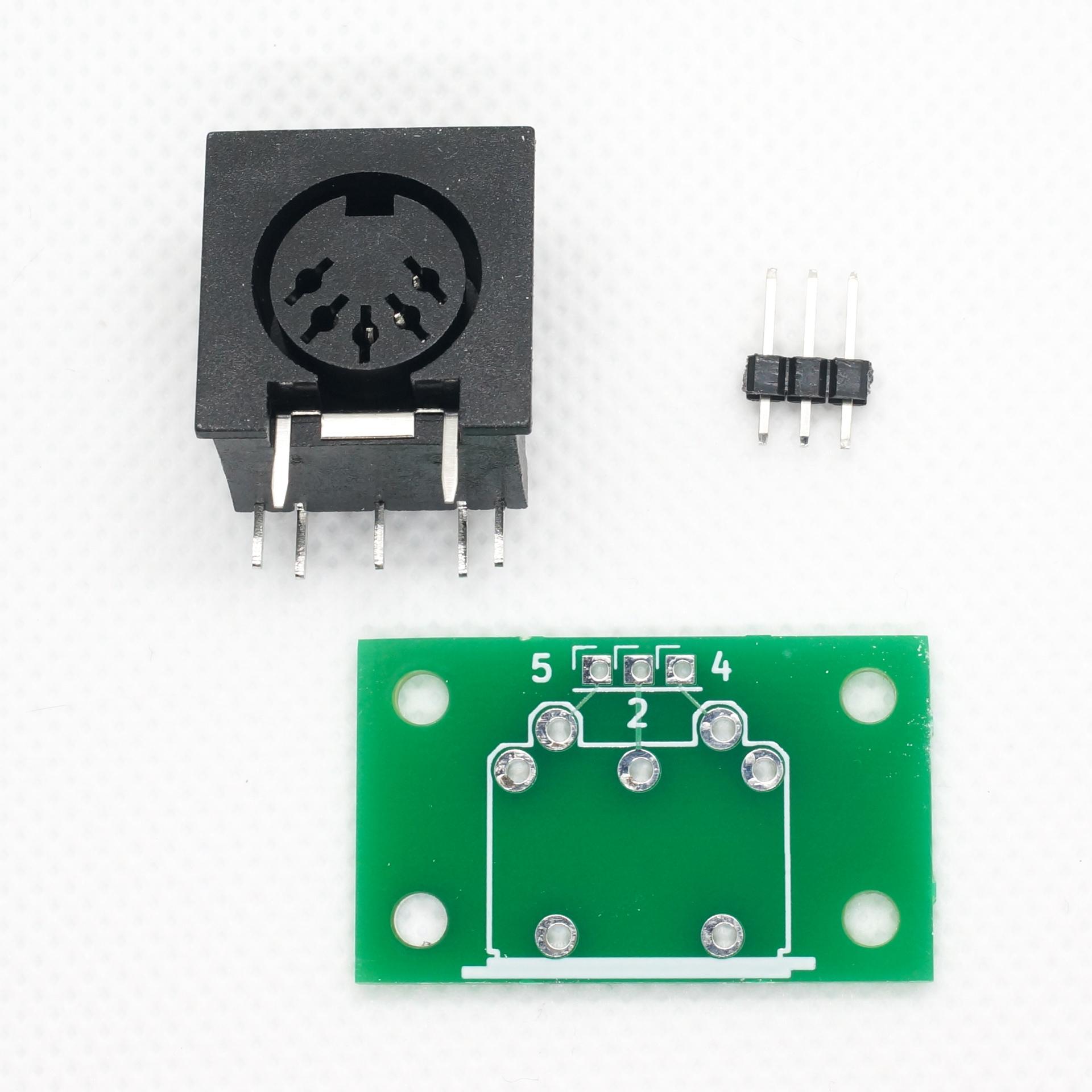 MIDI THRUBOX Mini(MIDIコネクタ基板つき)
