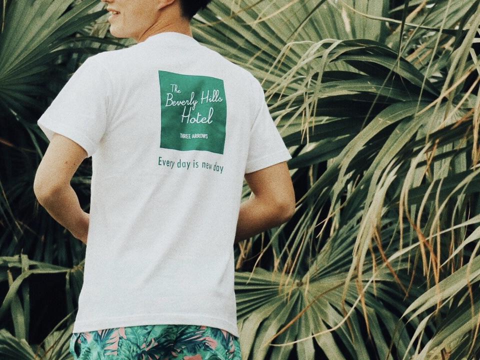 The BeverlyHills Hotel Tシャツ(white)