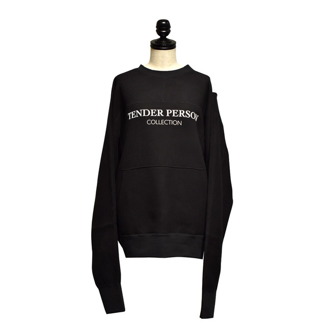 TENDER PERSON / HI-VIS BB SWEAT / Black