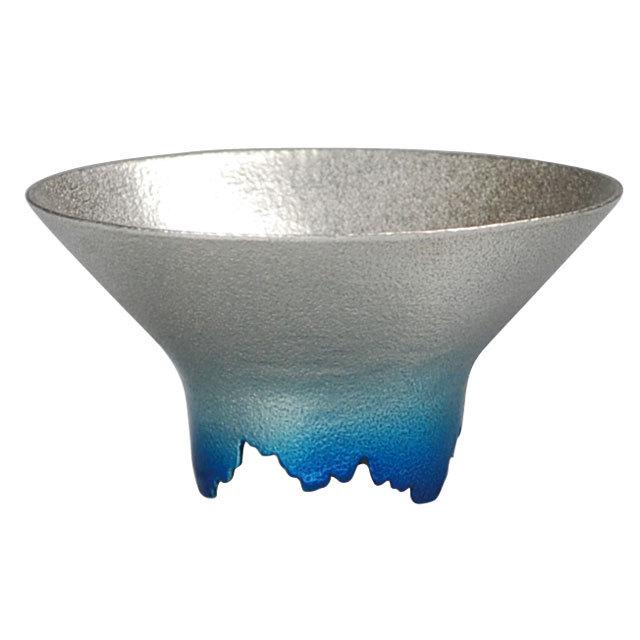 SHIKICOLORS Iceblue Sake Cup