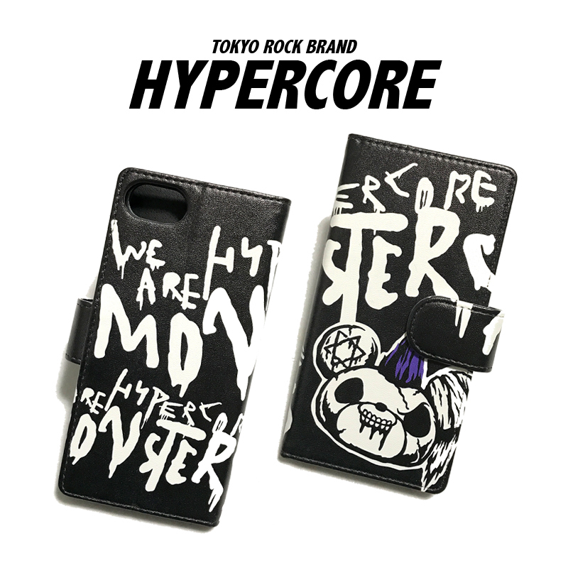 A-391A SPYKE DEAD BEAR iPhone&スマホ手帳型ケース