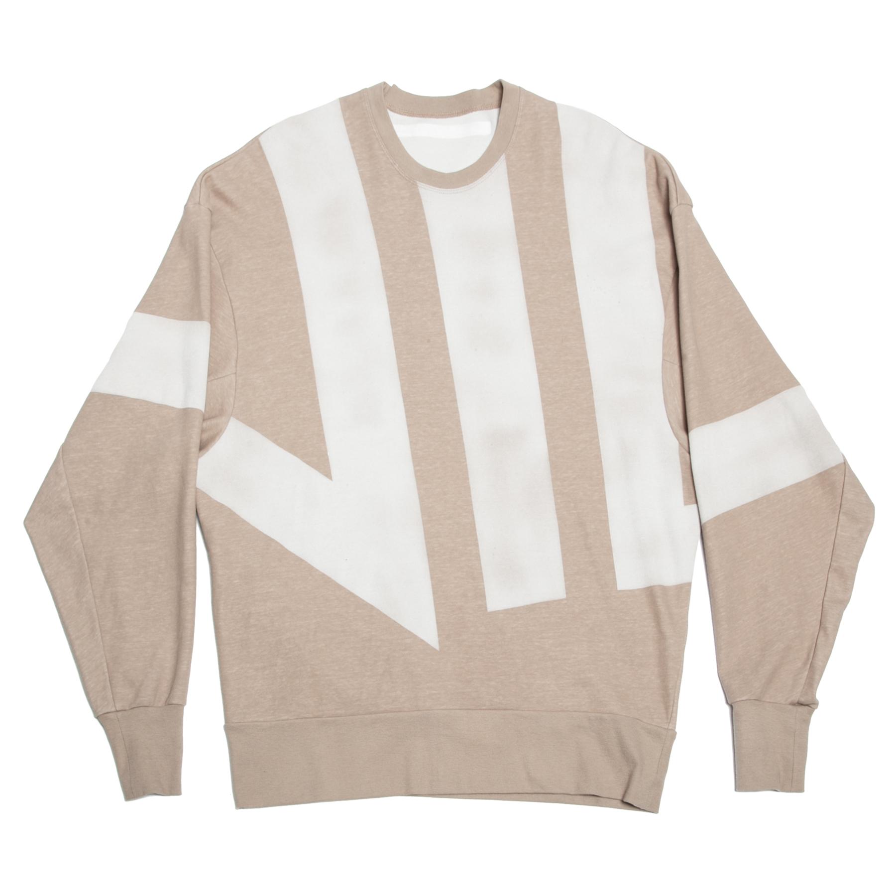 640CPM5-BEIGE / 家紋スウェットTシャツ
