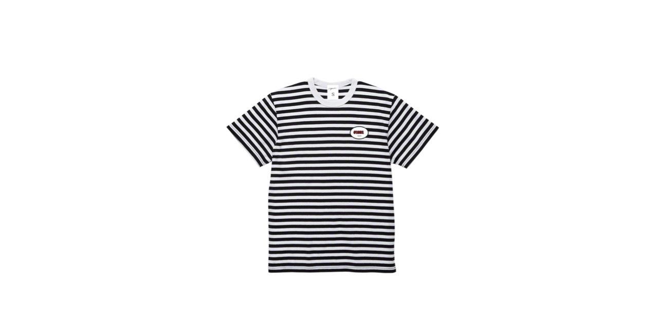 coguchi stripe T-shirts (BK/WH)