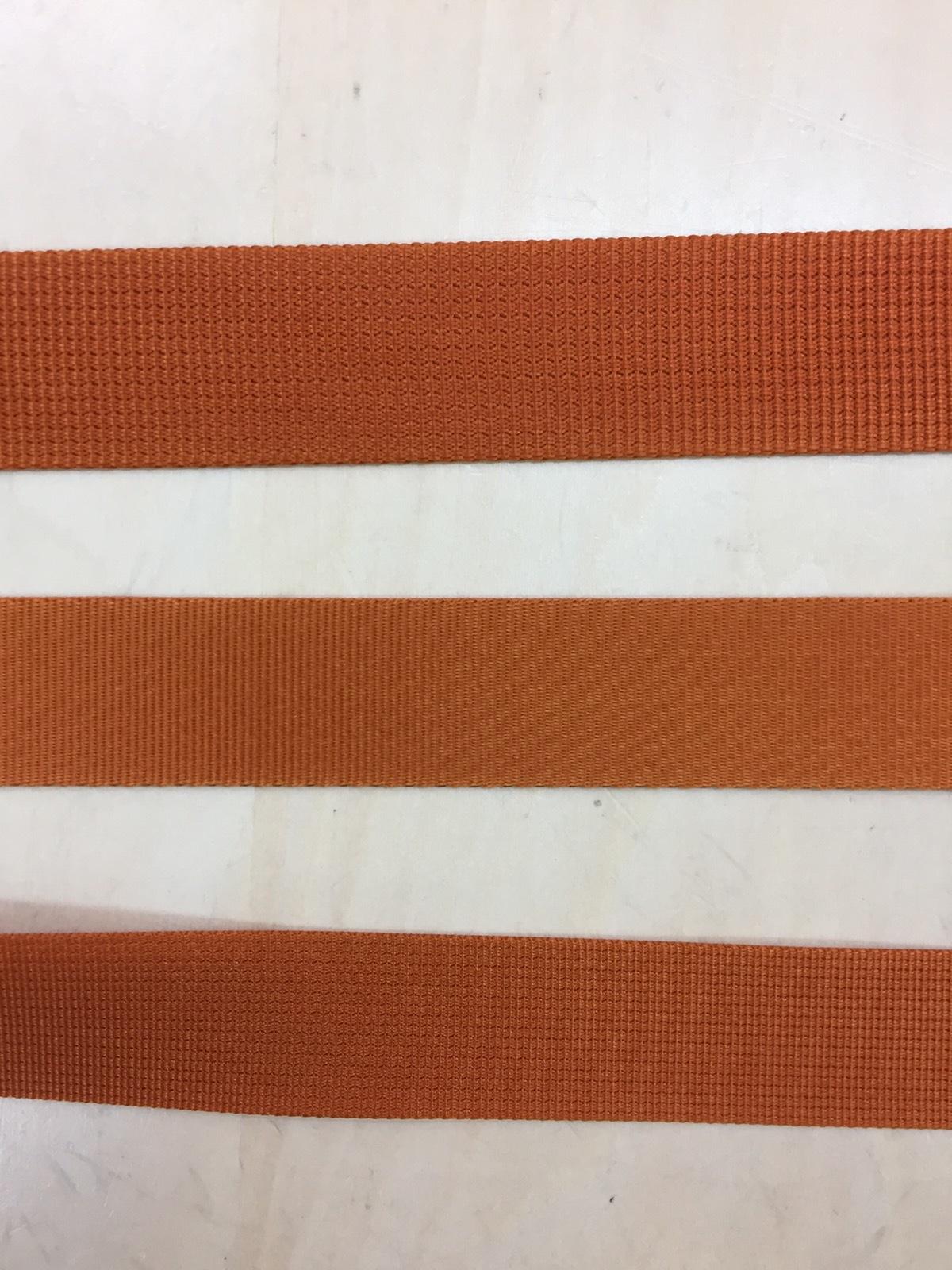 ナイロン 朱子織 サテン風 30㎜幅 カラー(黒以外) 1m単位