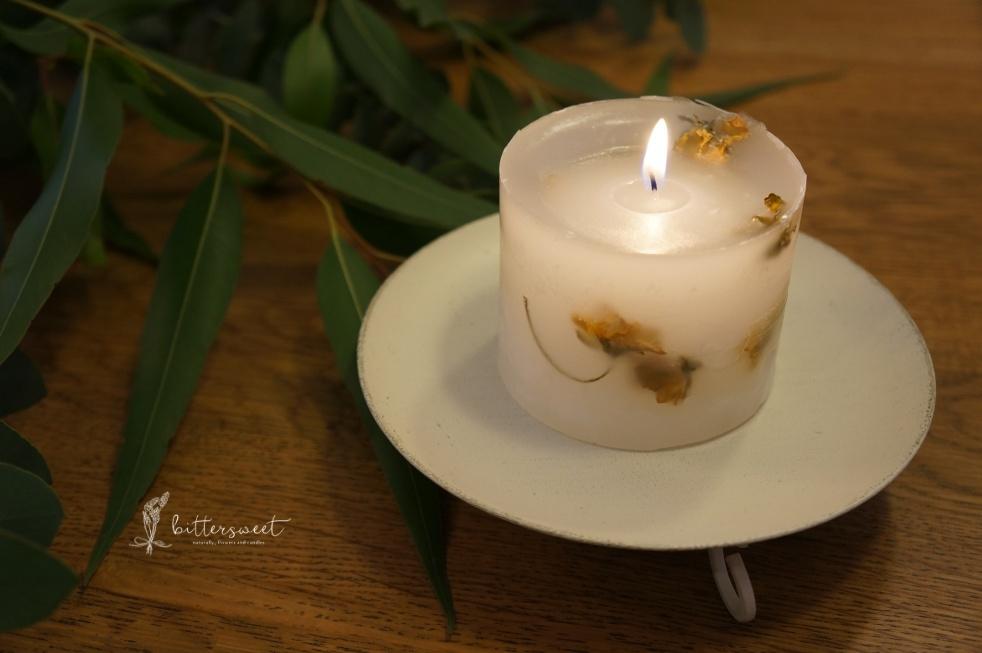 Botanical candle no.017
