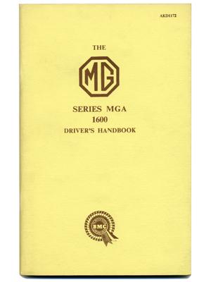 MGA 1600・ドライバーズ・ハンドブック