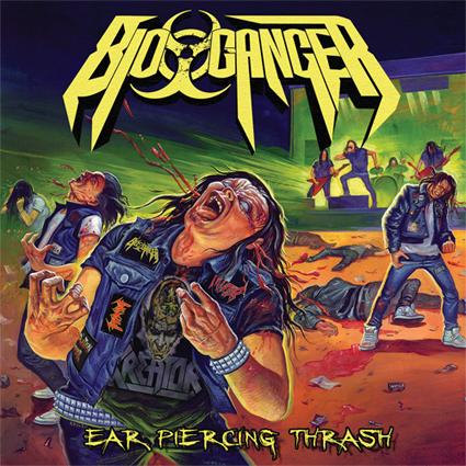 """BIO-CANCER """"Ear Piercing Thrash"""" (輸入盤)"""