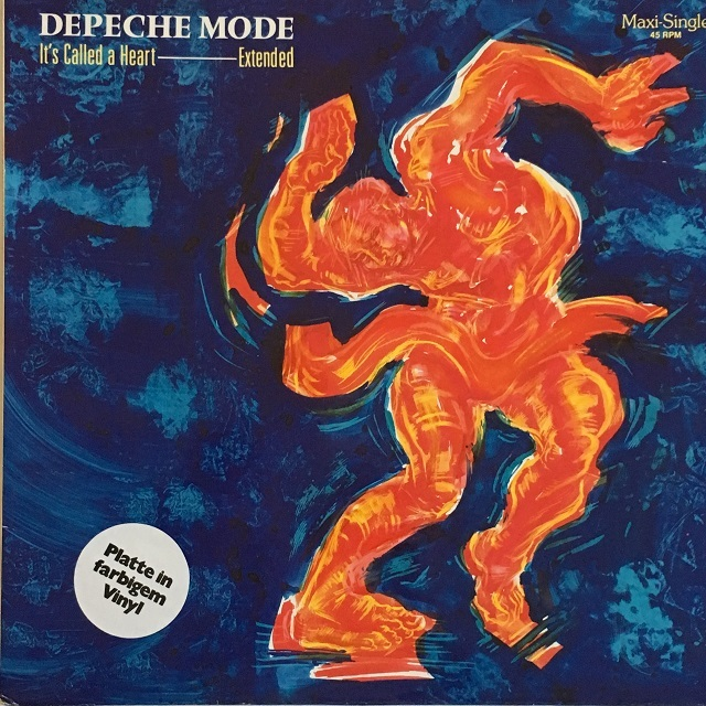 【12inch・独盤】Depeche Mode /  It's Called A Heart (Extended Version)