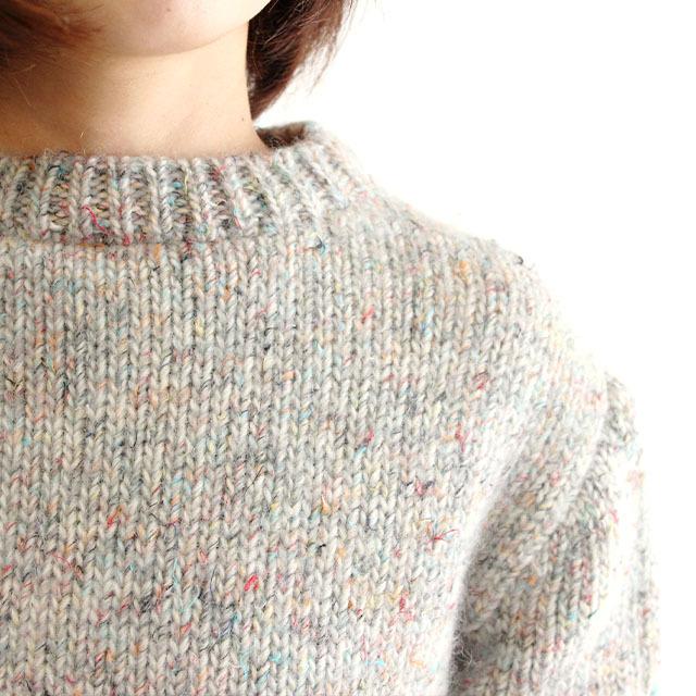 【編み物キット】No.5の糸を使ったセータ―