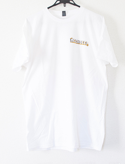 ※Restock【NECK DEEP】Parachute T-Shirts (White)
