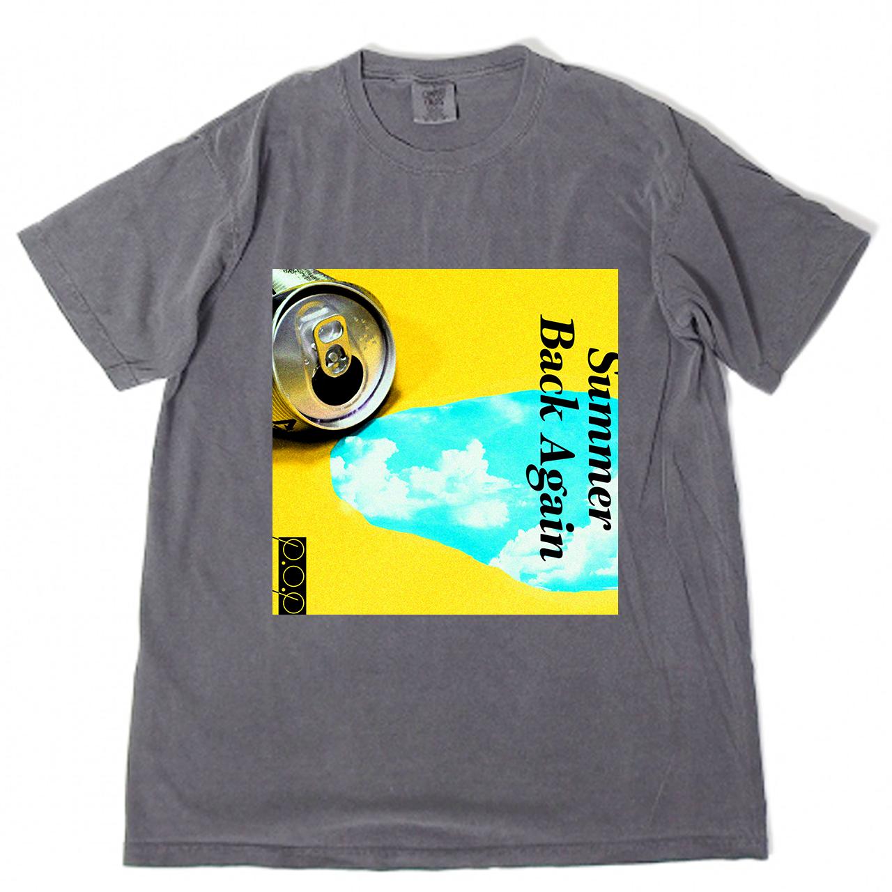 SUMMER BACK AGAIN Tシャツ グレー - 画像1