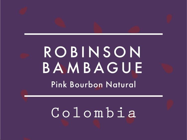 【お得!500g】コロンビア / ROBINSON BANBAGUE Pink Bourbon Natural
