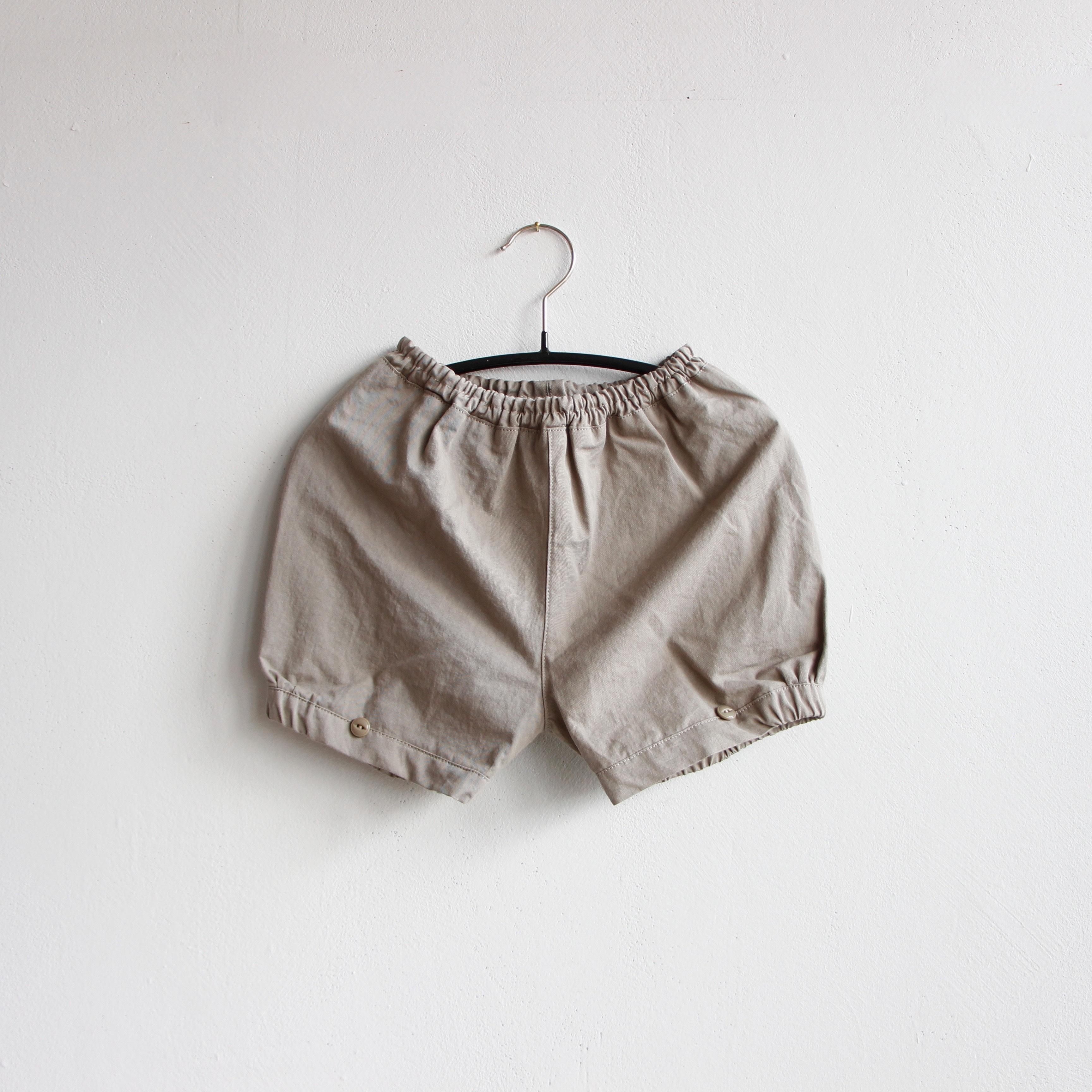 《mimi poupons 2020SS》パフボトム / gray / M