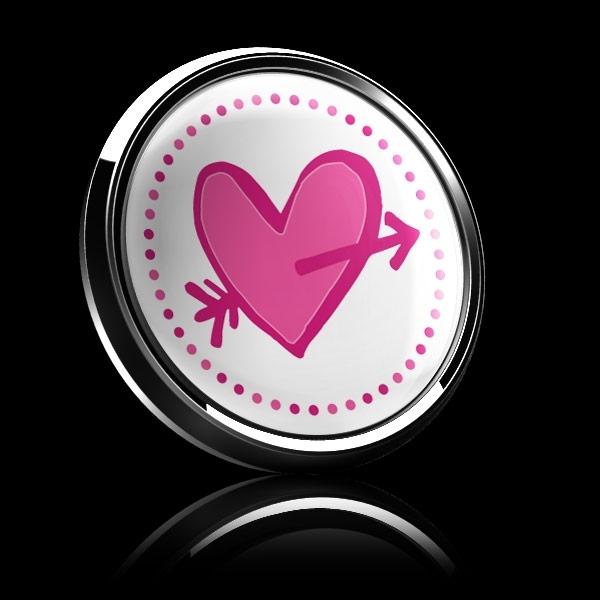 ゴーバッジ(ドーム)(CD0905 - Seasonal CUPID HEART) - 画像4