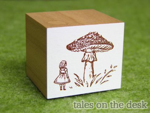 スタンプ - きのこ少女 - tales on the desk