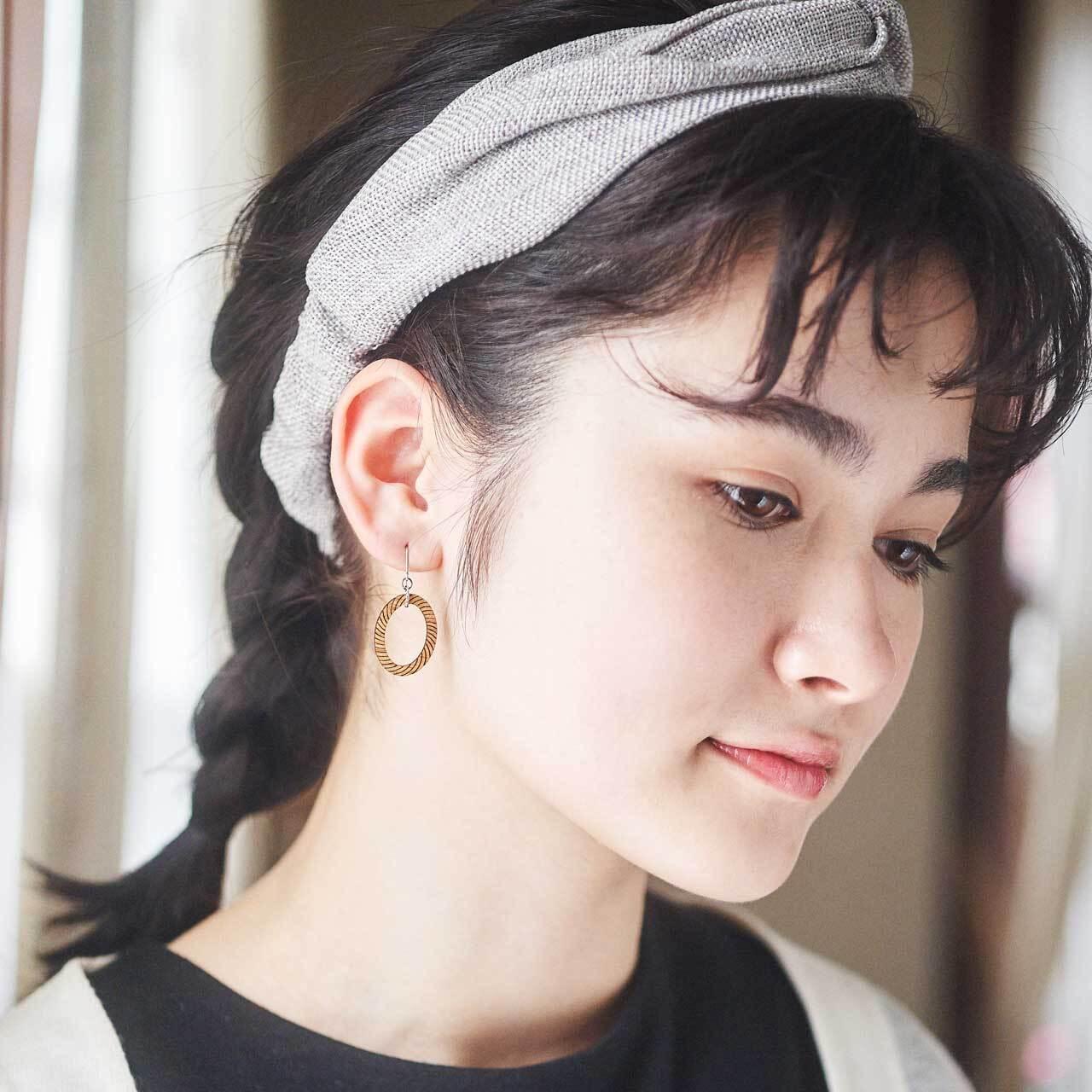 ellipse / 楕円(Pierced Hang)