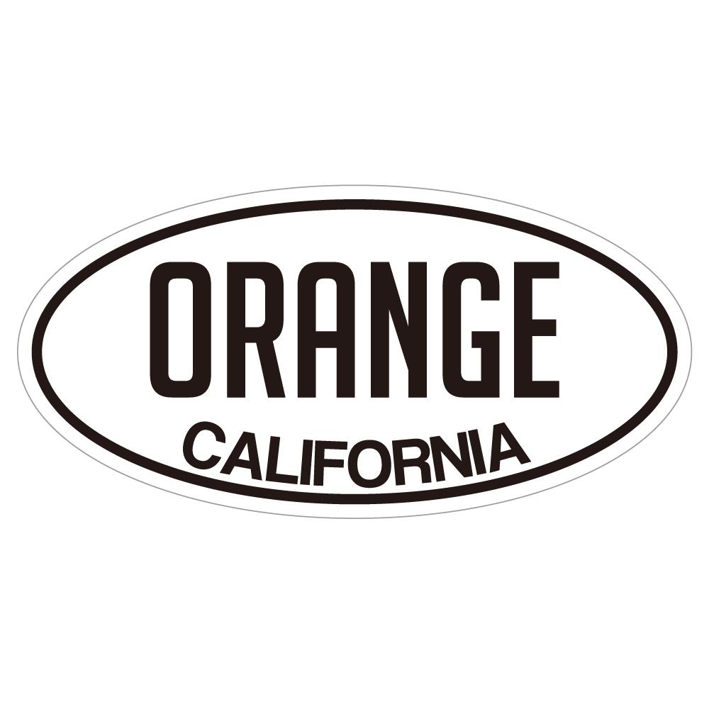 "144 ORANGE COUNTY ""California Market Center"" アメリカンステッカー スーツケース シール"