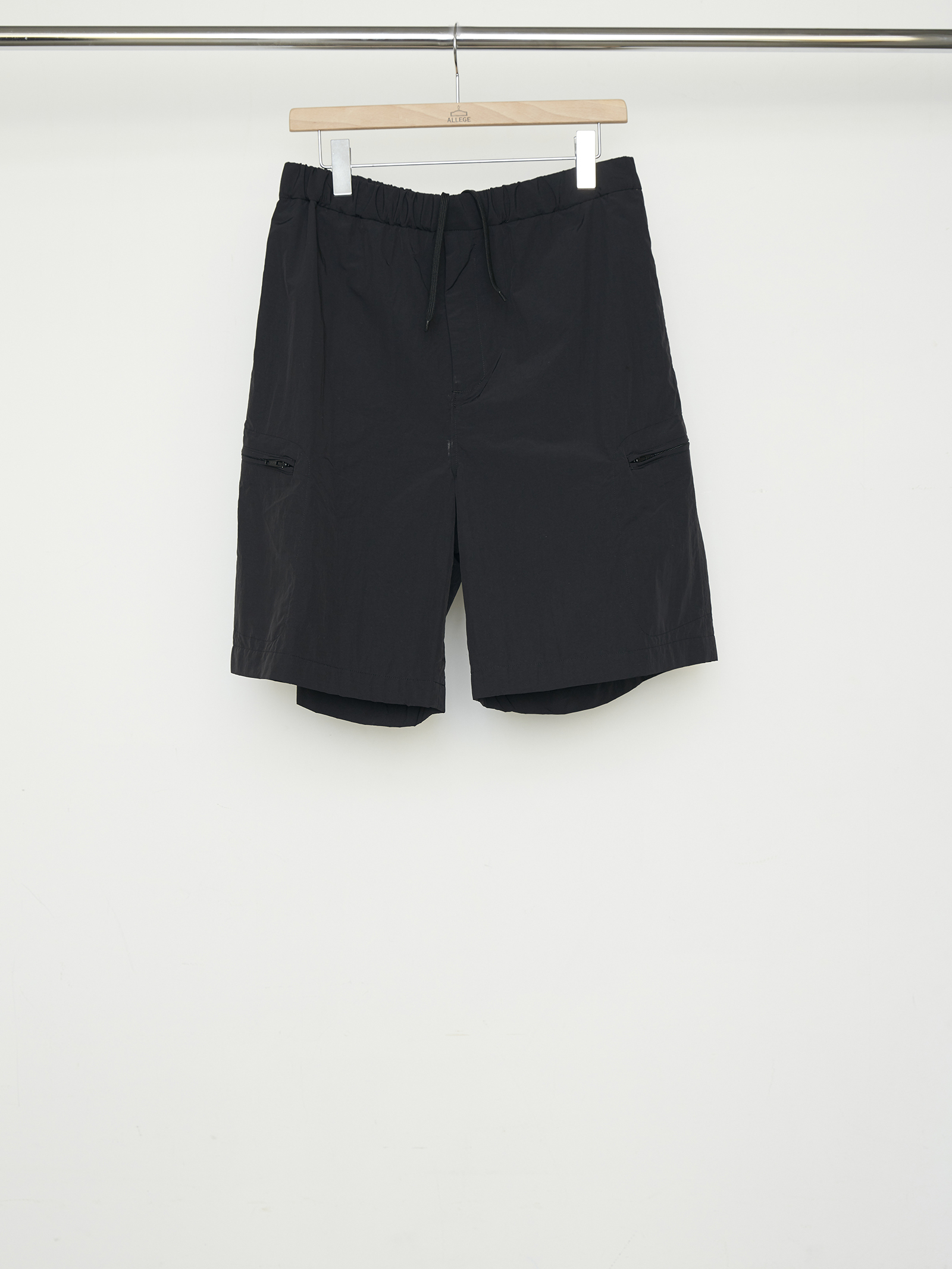 Nylon Easy Short - BLACK