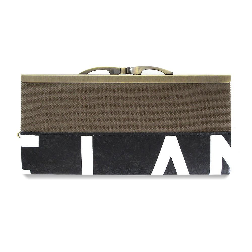 Frame Purse Long Wallet / GWA-0010