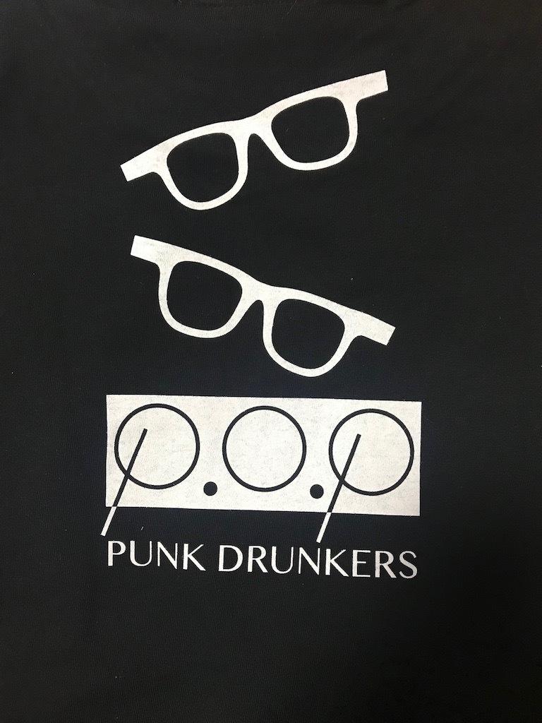 P.O.P x PUNK DRUNKERSコラボTシャツ2019 - 画像2