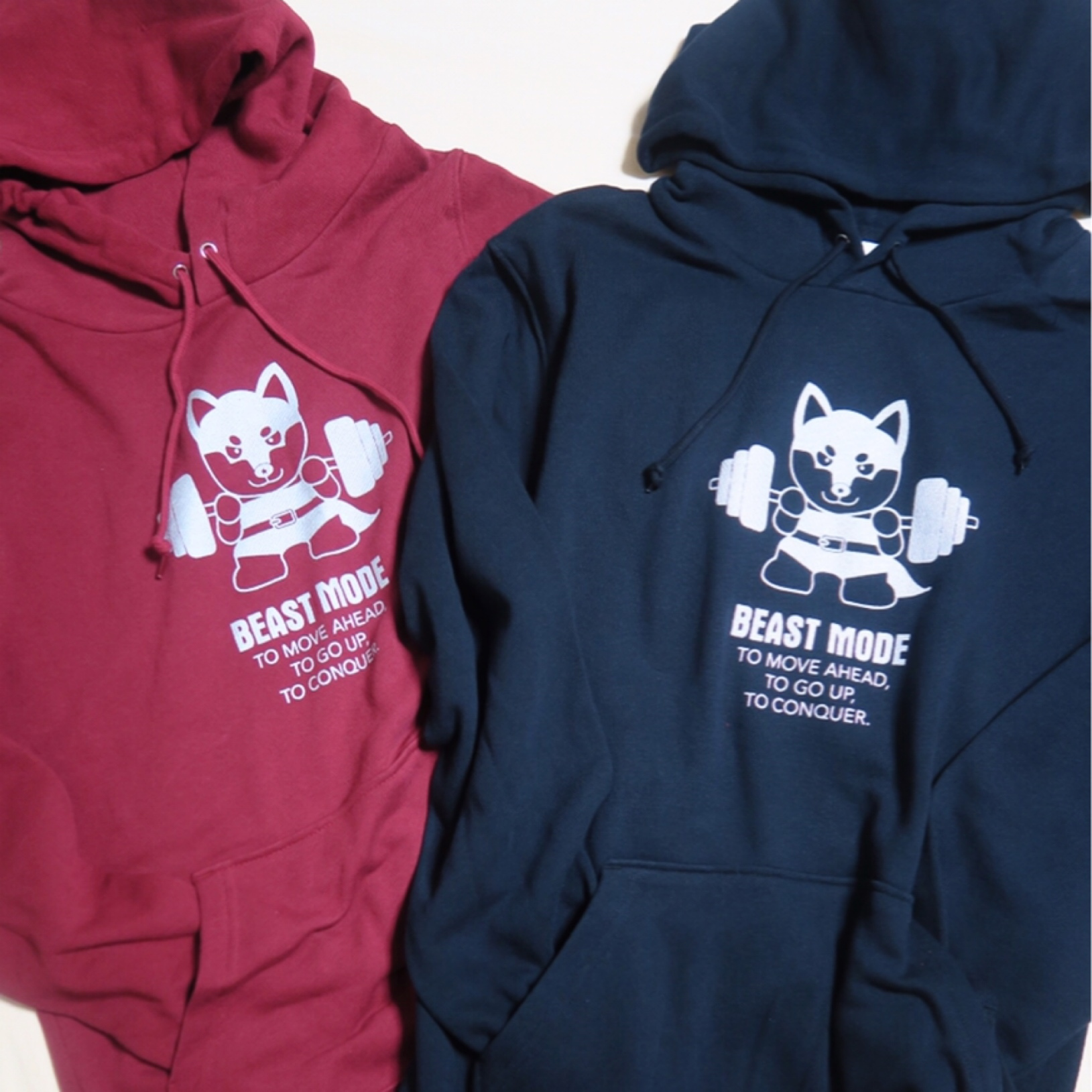 【BEAST MODE】FOODIE ライトパーカー  柴犬