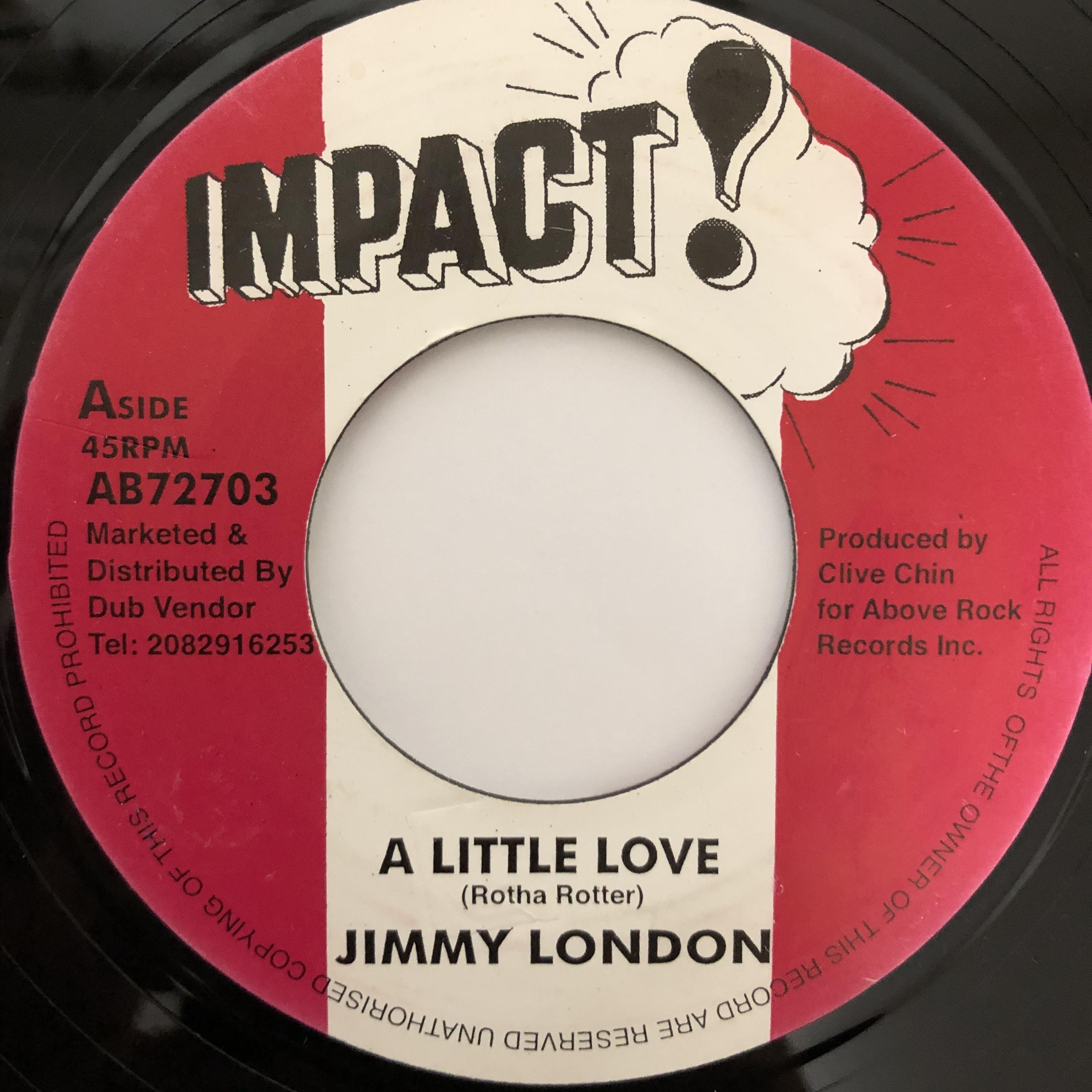 Jimmy London - A Little Love【7-20399】
