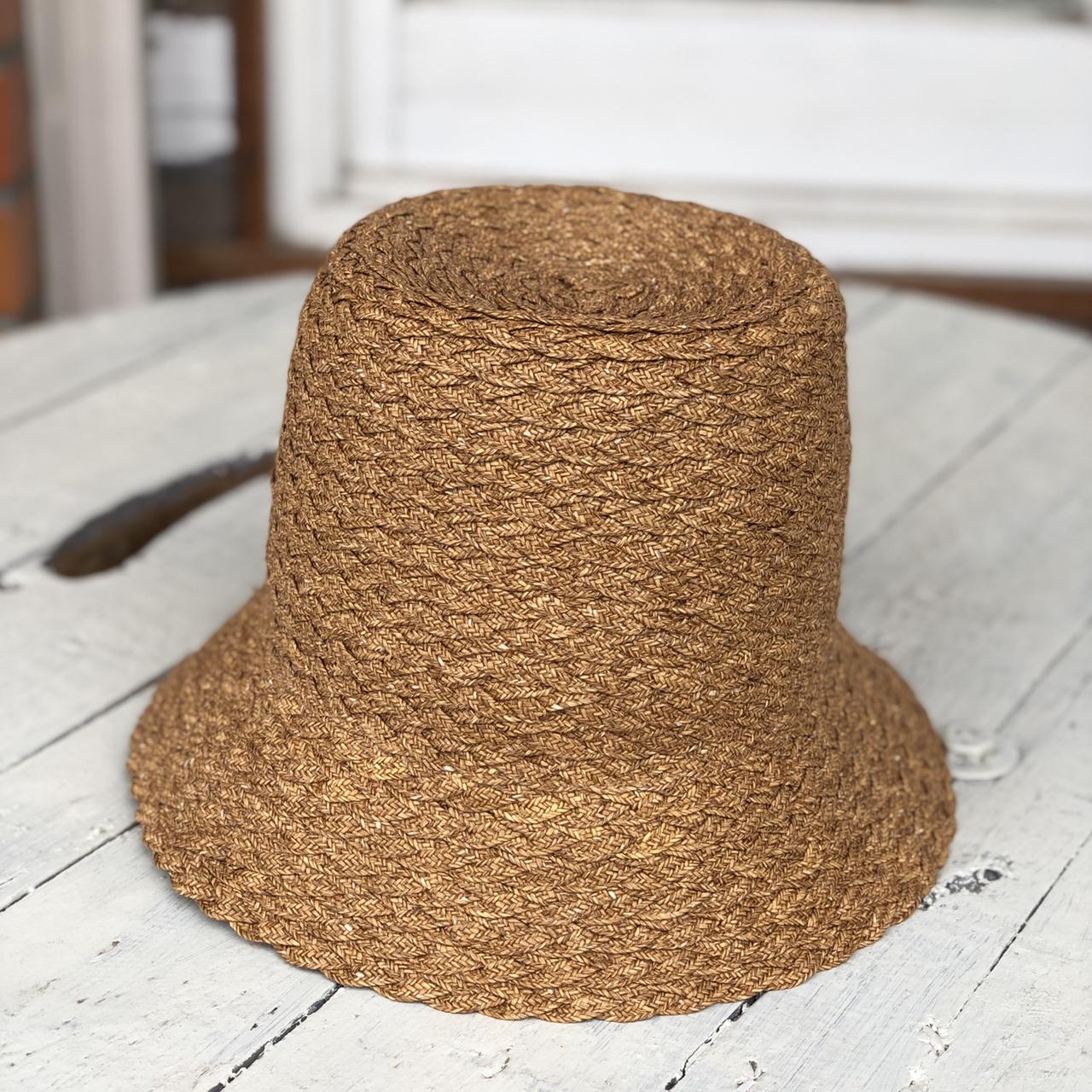 MARIHOJA # High Crown Braid Hat