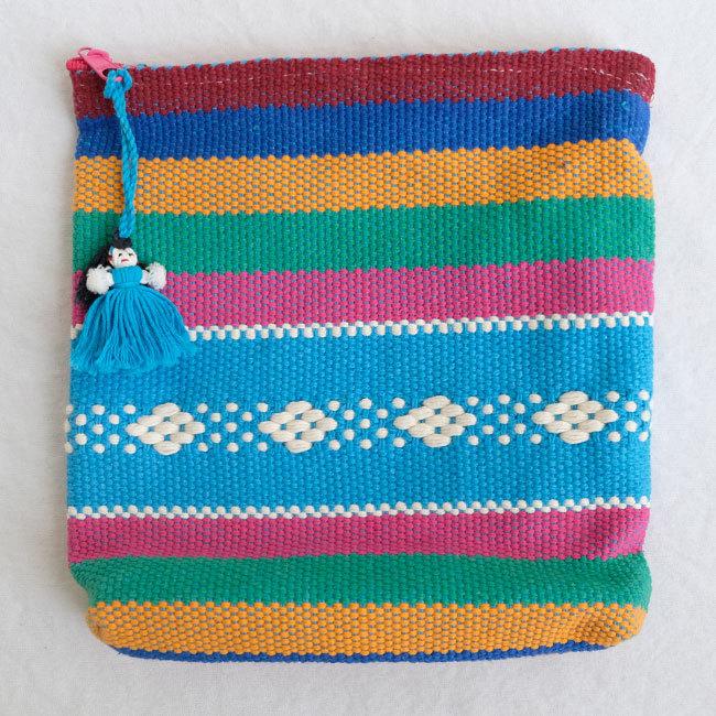 メキシコの手織りポーチ /208_b/ MEXICO