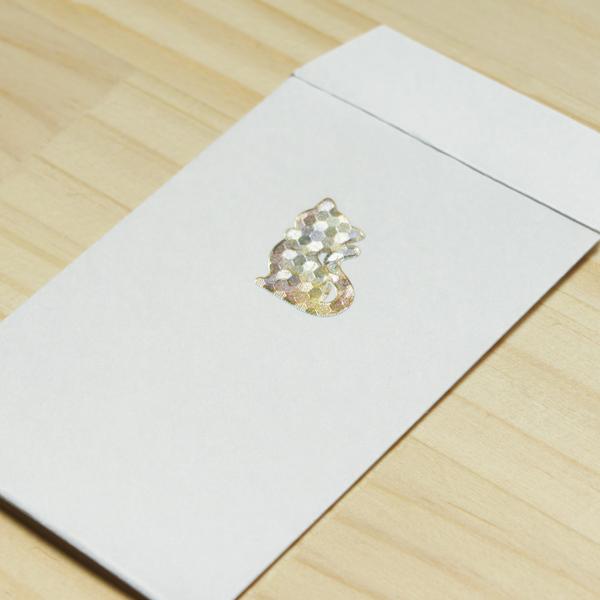 【ネコ】ハッピーモチーフポチ袋 PHM09-2