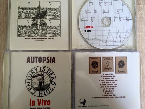 Autopsia - In Vivo  CD - 画像2