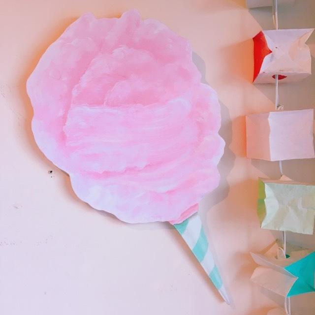diecut cotton candy