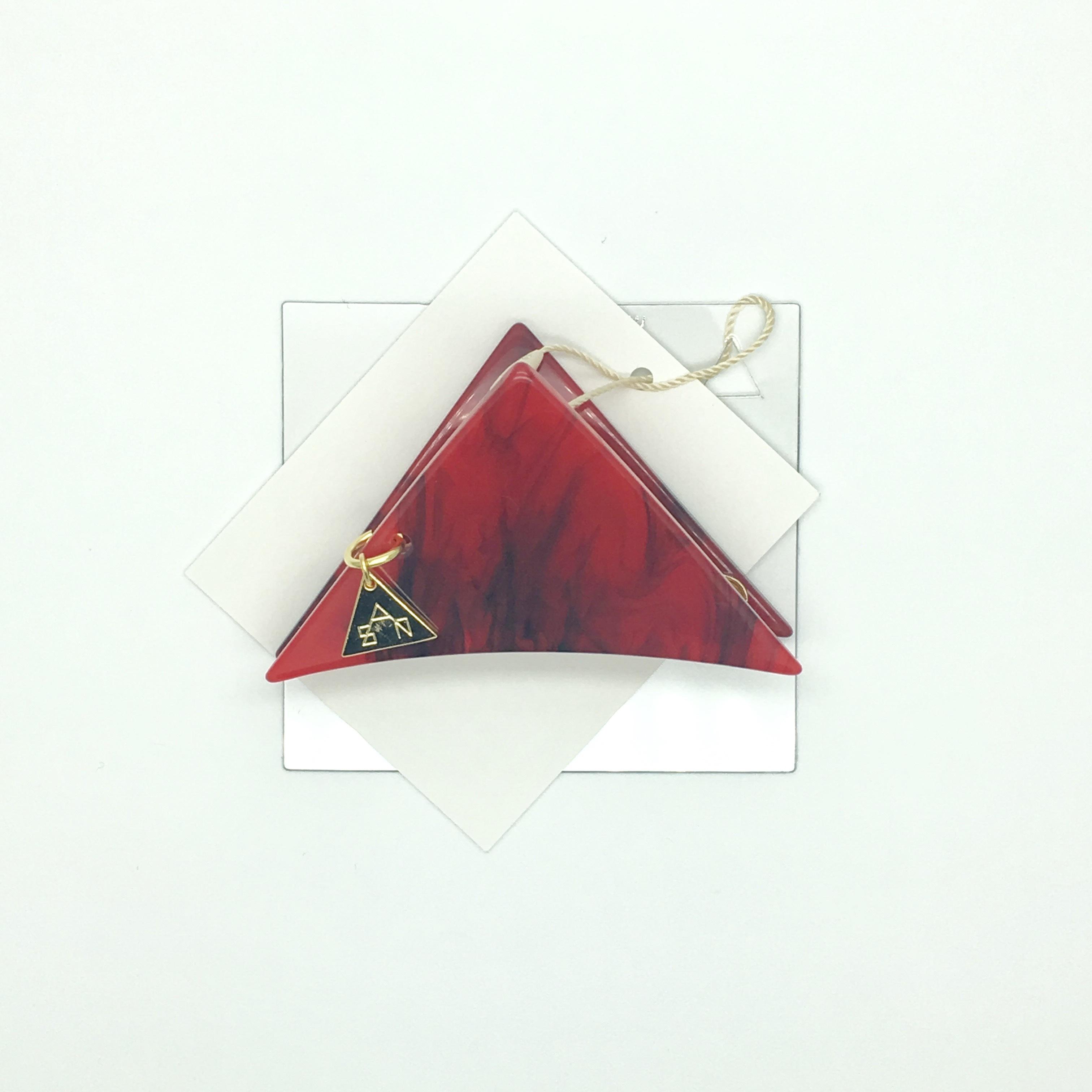 sAn 三角クリップSサイズ レッド