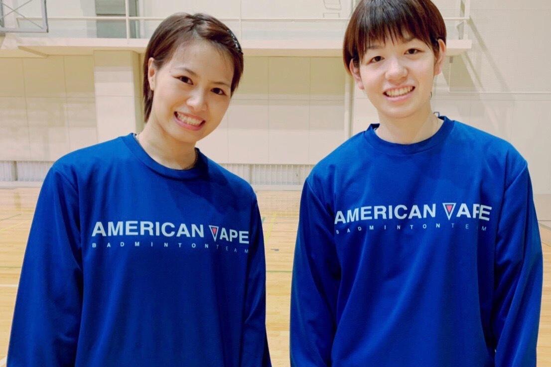 アメリカンベイプバドミントンチーム 公式ロングTシャツ