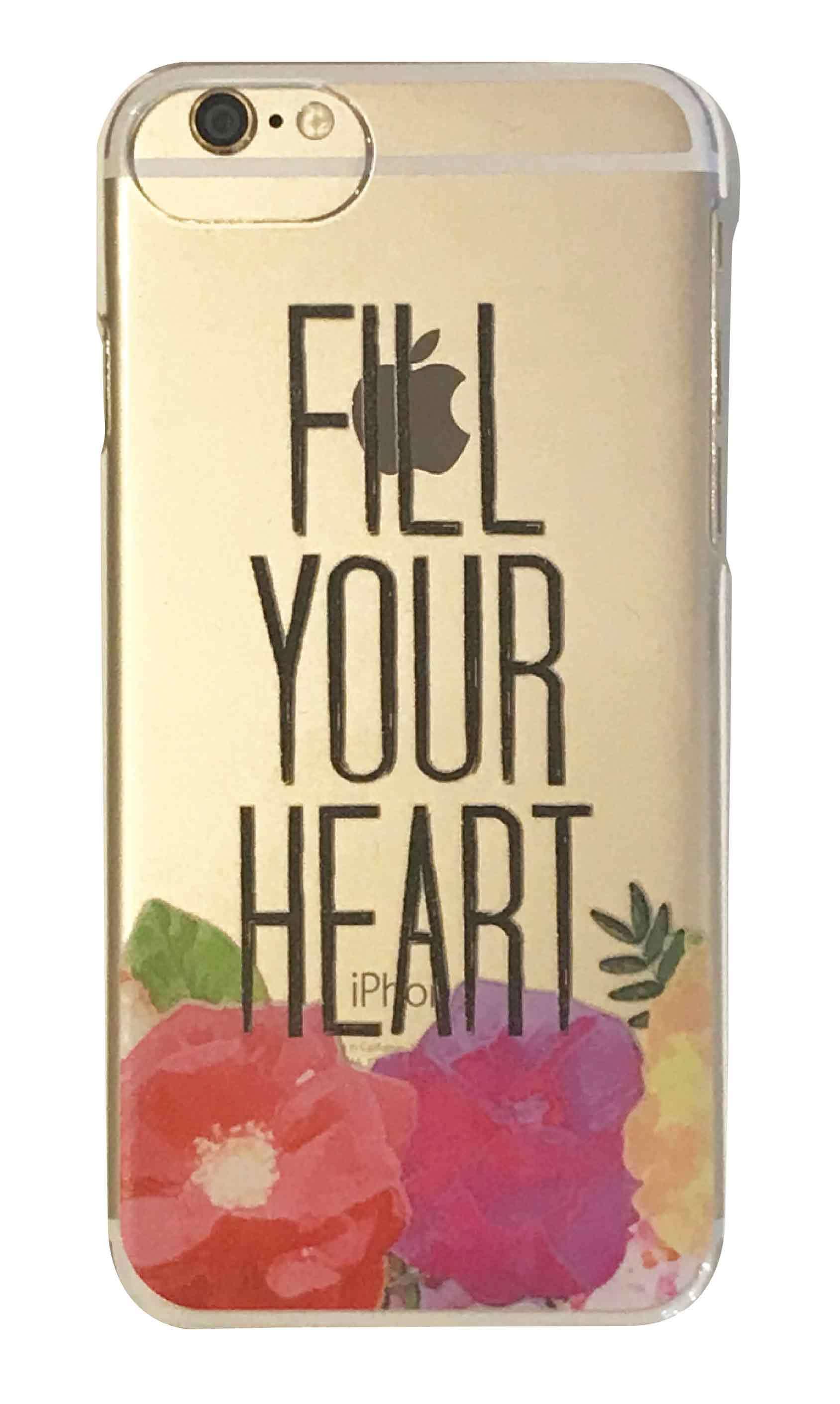 FULL YOUR HEART クリアハードケース
