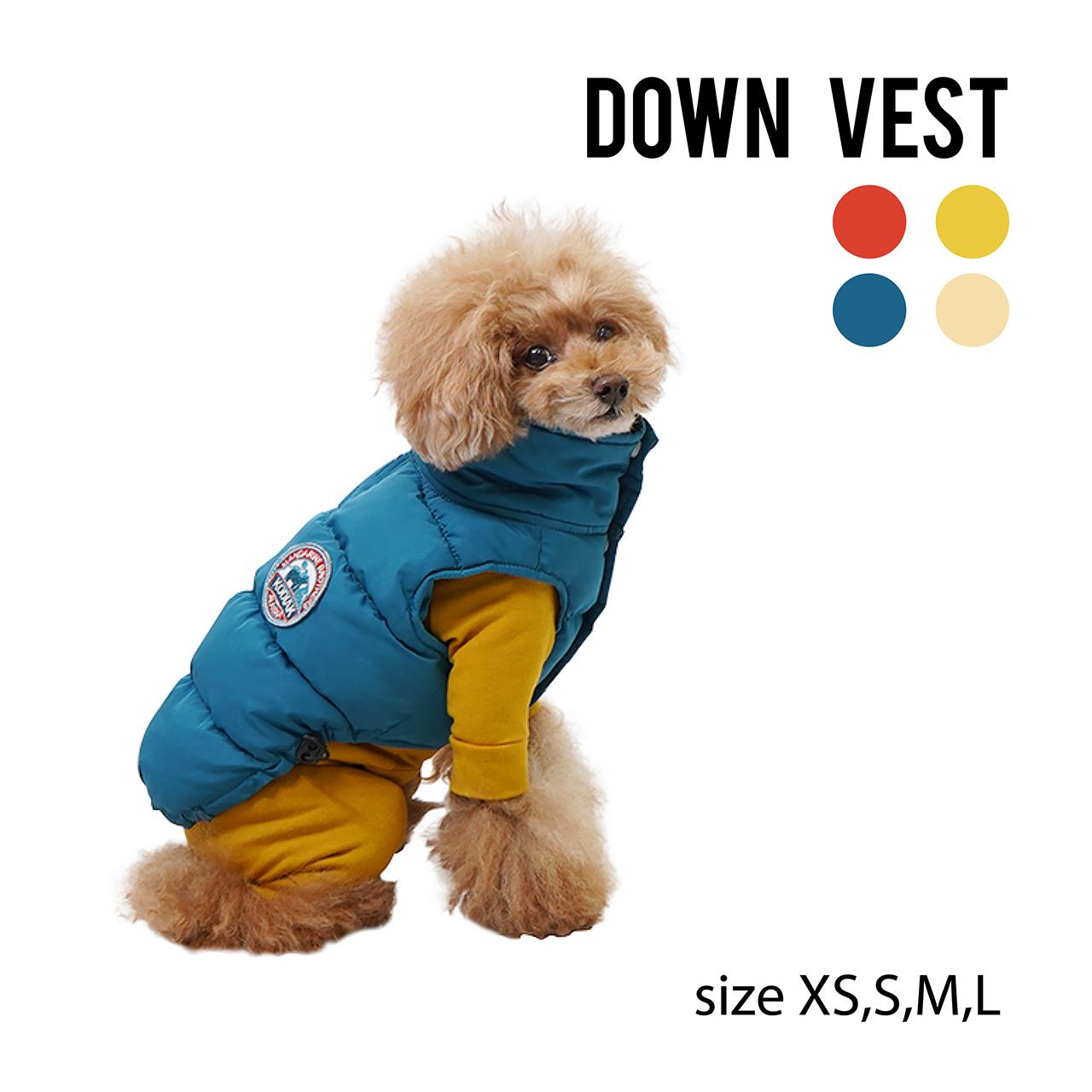 DOWN VEST(XS~L) ダウンベスト