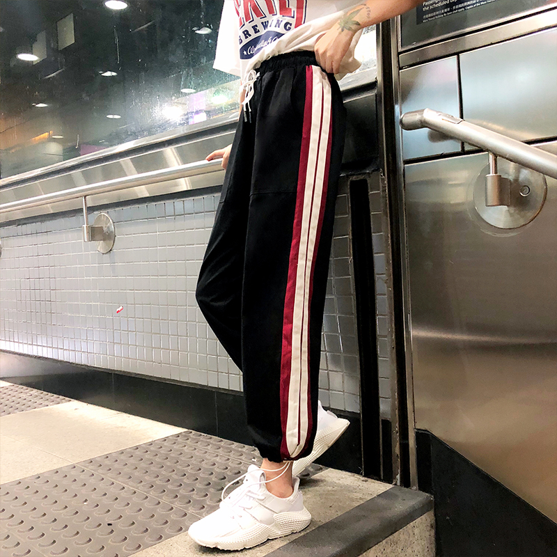 【bottoms】ファッション配色超人気カジュアルパンツ21974599