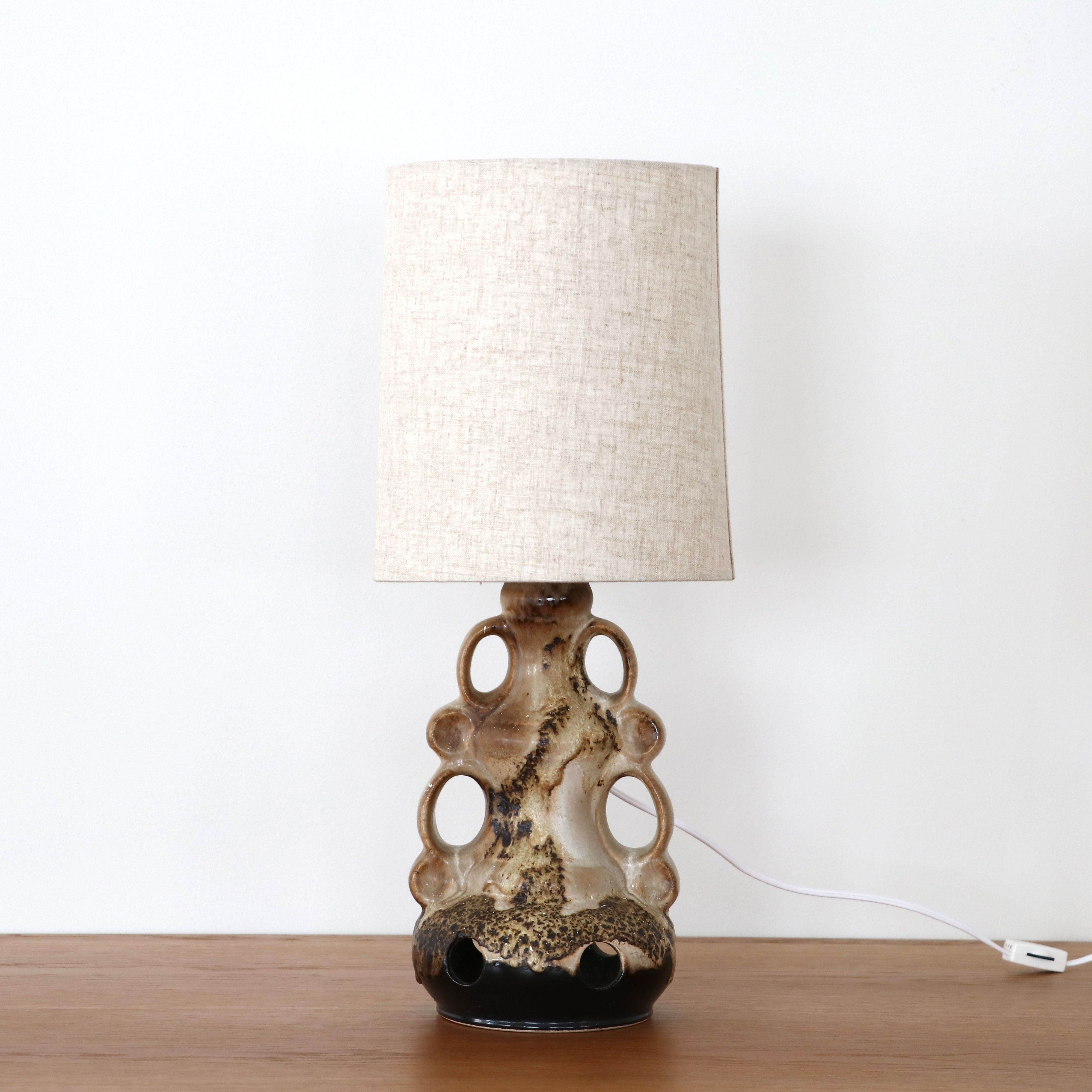 West germany Ceramic table lamp
