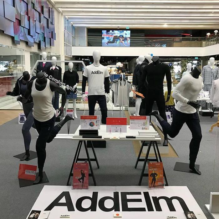 AddElm NEWライトネックレス(ホワイト)