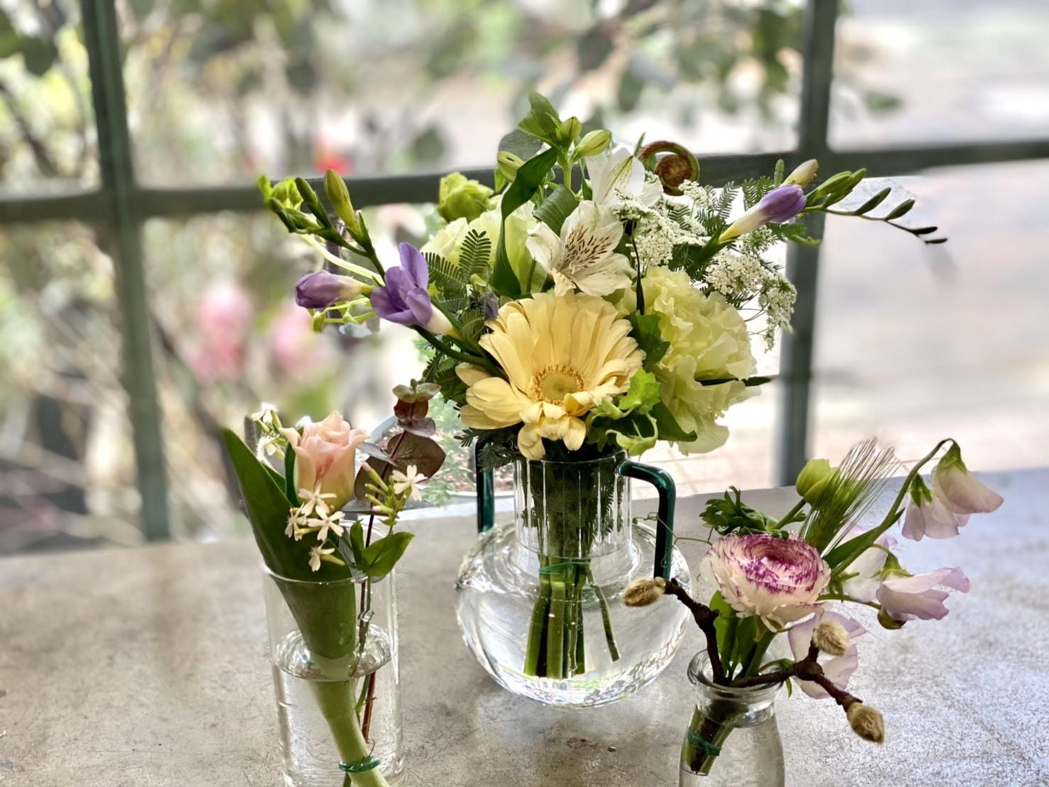 【おまかせ】季節のおまかせ ご自宅花瓶セット