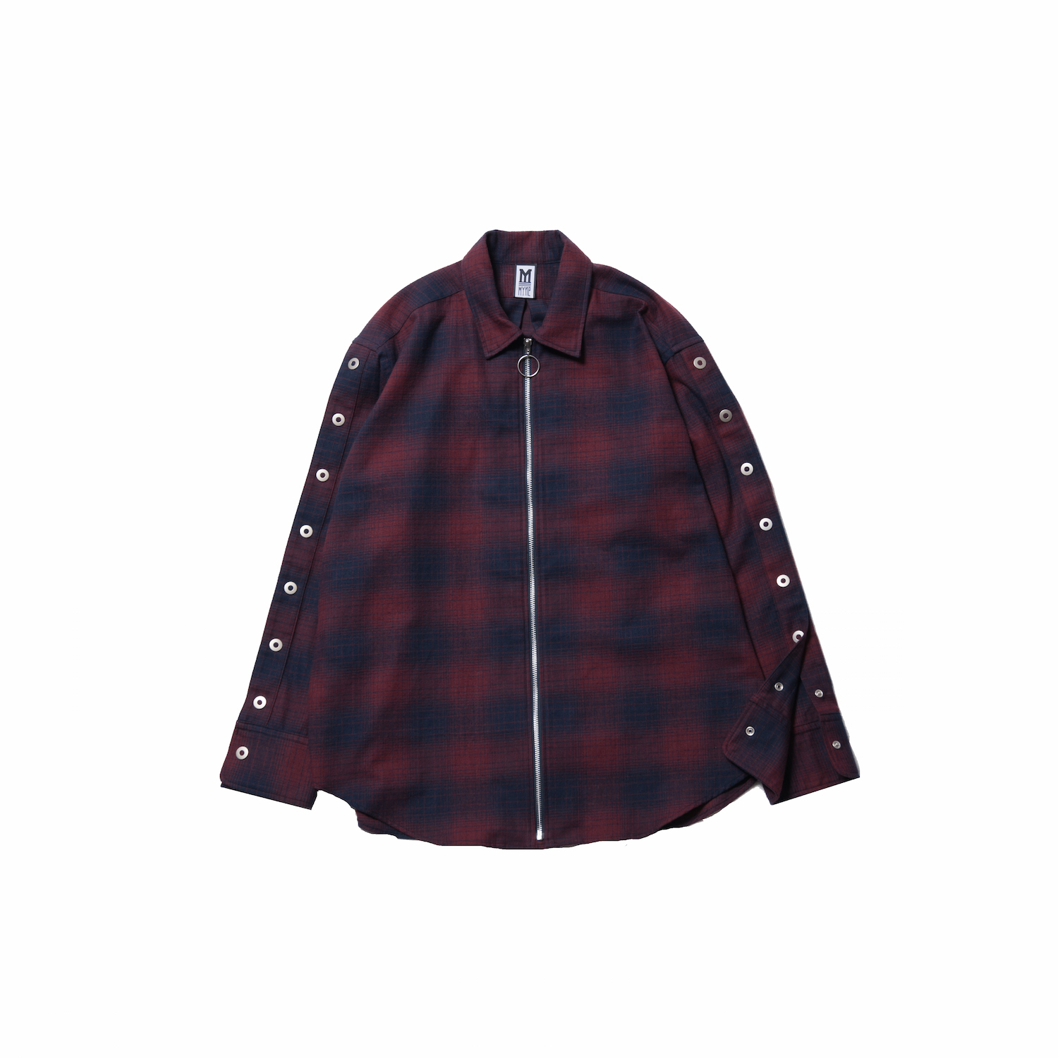 CHECK RING ZIP-UP SHIRTS  - 画像2