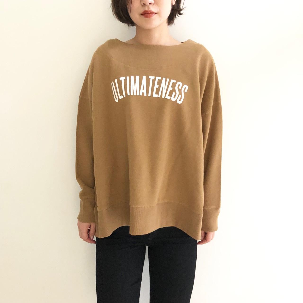 【 siro de labonte 】- R933217 - ロゴスウェットTeeシャツ