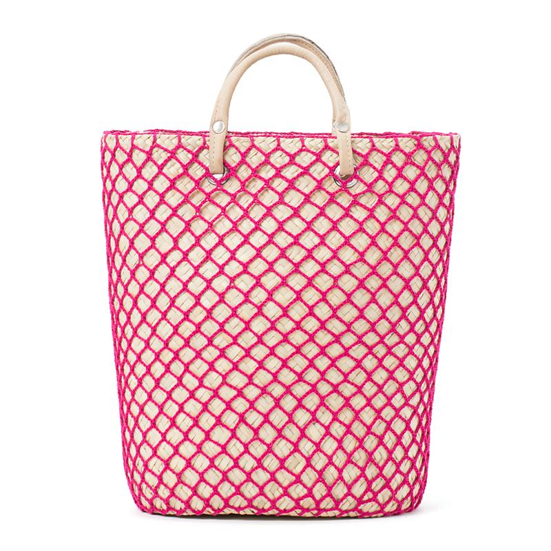 PALMA NET BAG - Pink